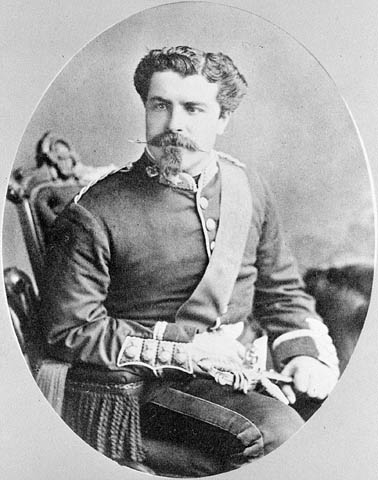 Captain Telmont Aumond of the Governor General's Foot Guards was a staff captain for the 1884 – 1885 Nile Expedition