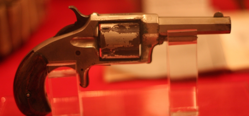 Pistol Belonging to CSgt Winter