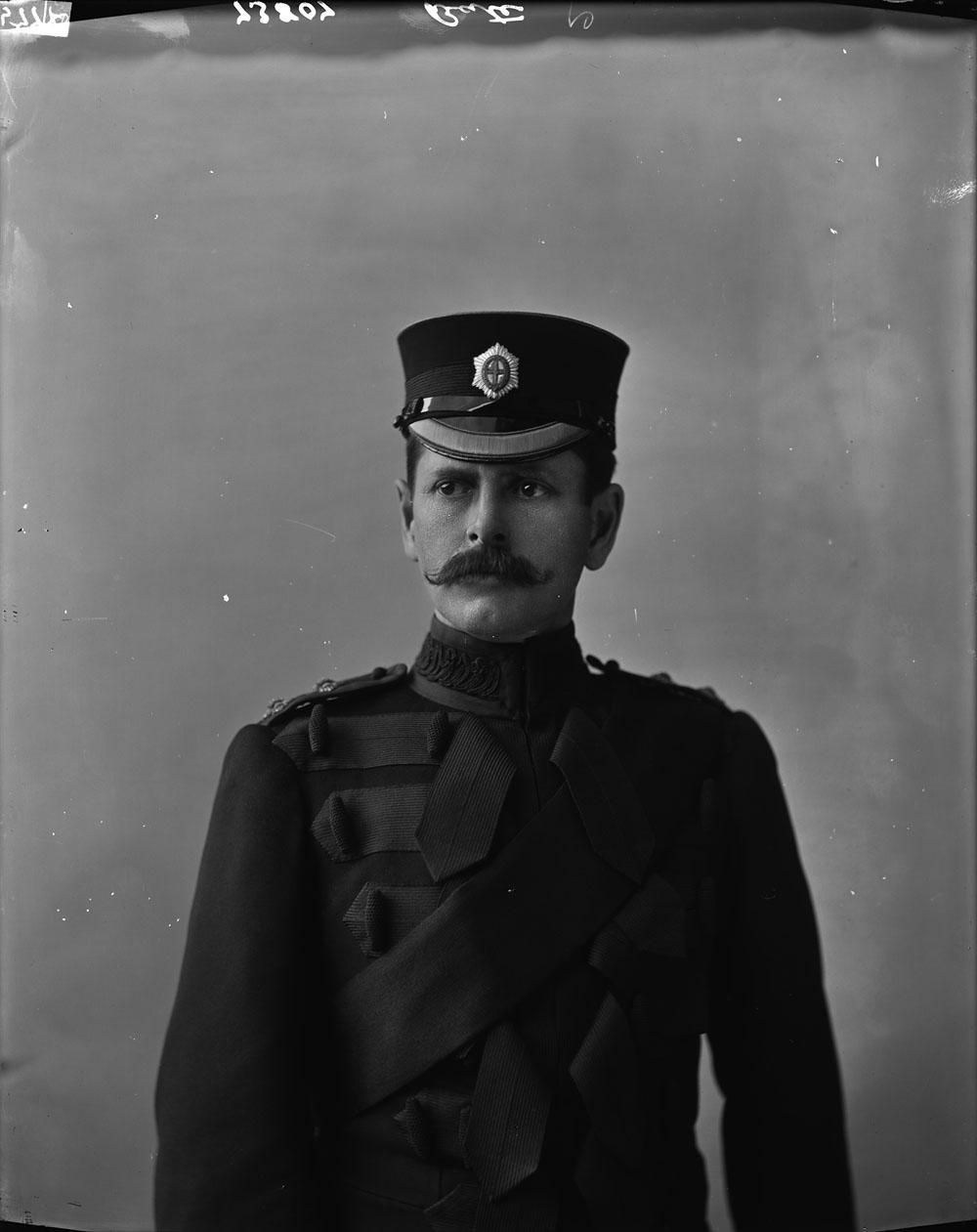 LCol H.A. Bate in 1897