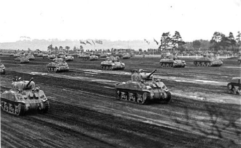 Tank movement by 21 CAR (GGFG).
