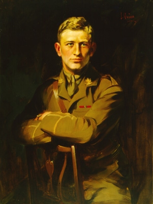 Portrait of Major O'Kill Massey Learmonth, VC, MC